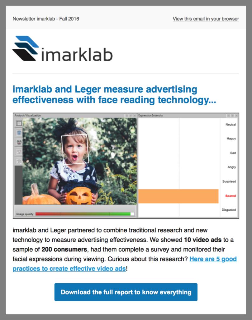 imarklab newsletter overview