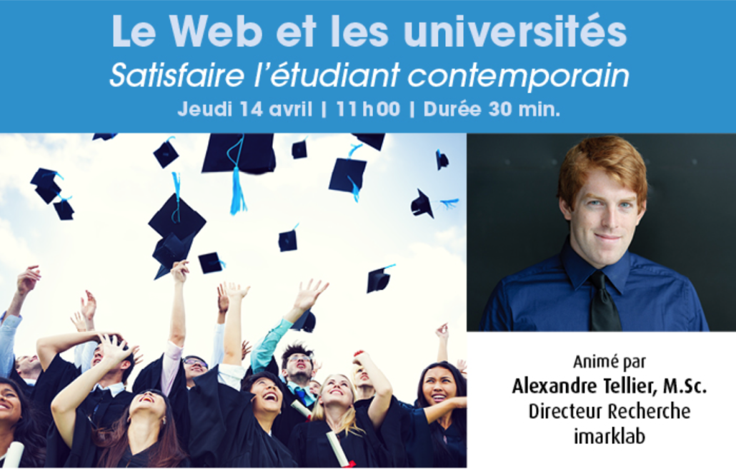 webinaire universités