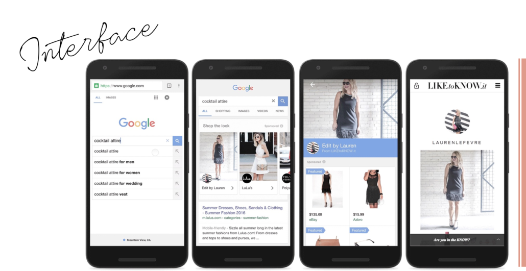 Google Shop the Look 2