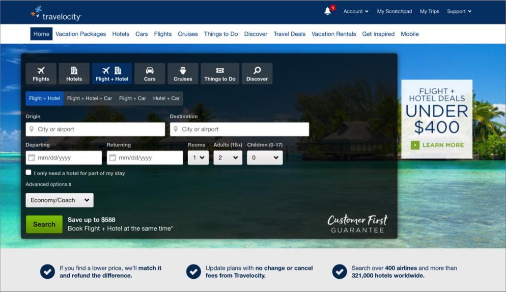 Impact de l'arrivée des sites comme Expedia et Travelocity sur l'industrie hôtelière selon Marriott
