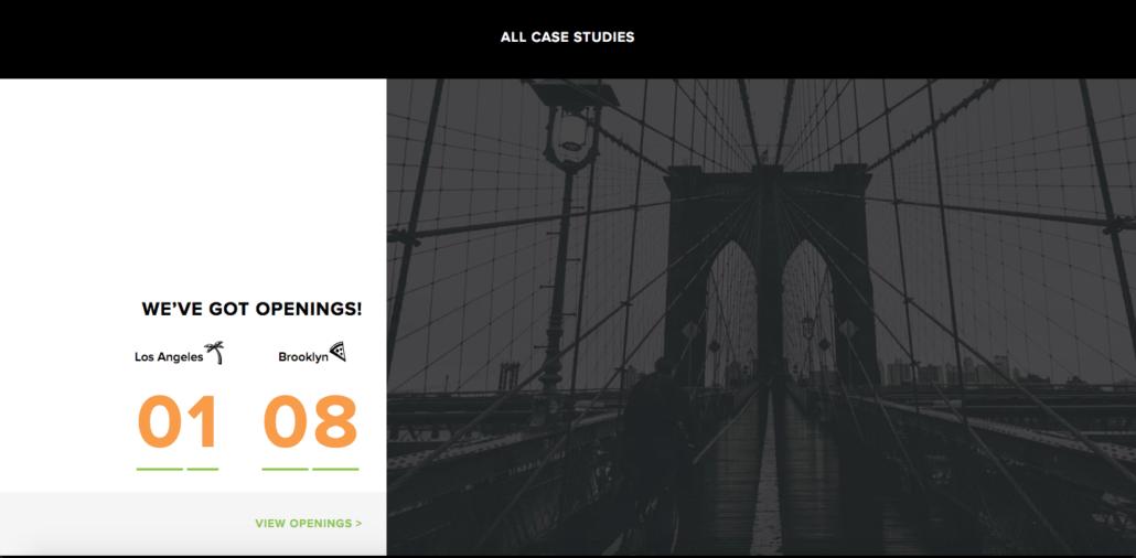 Page d'accueil du site de Carrot