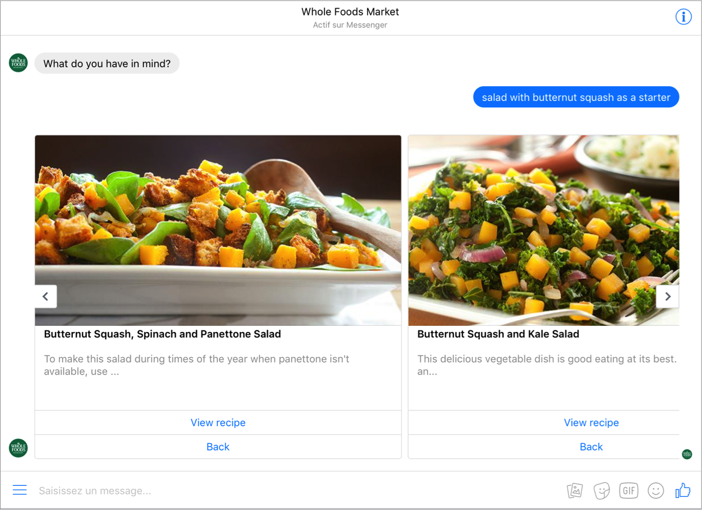 Putting chatbots to the test is artifical intelligence better than chatbot de whole foods forumfinder Choice Image