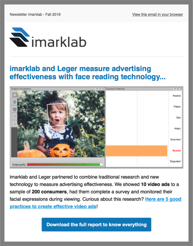 imarklab newsletter overview