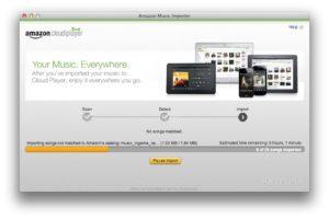 Échec Amazon : Music Importer