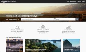 Échec Amazon : Destinations