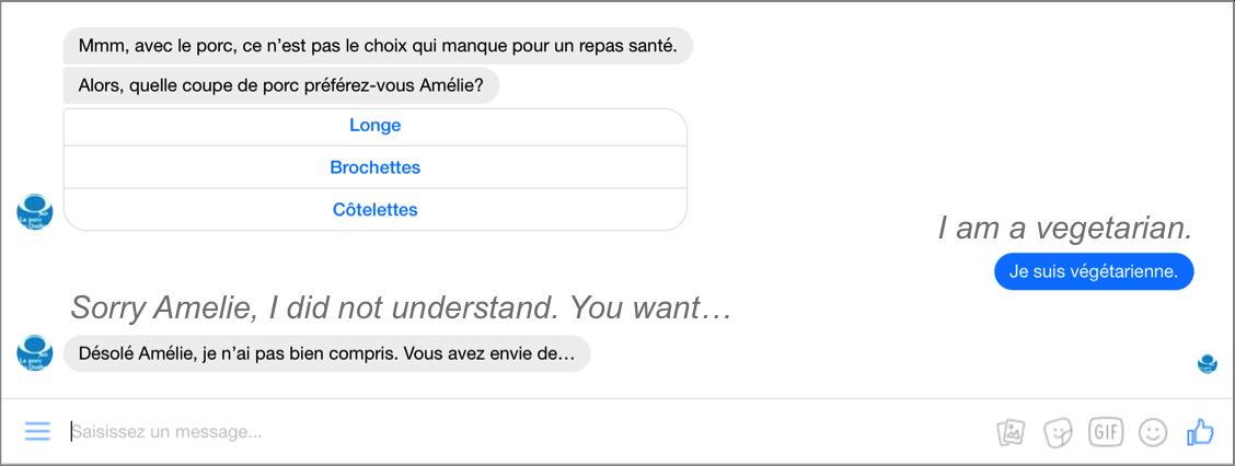 Quebec's Pork chatbot